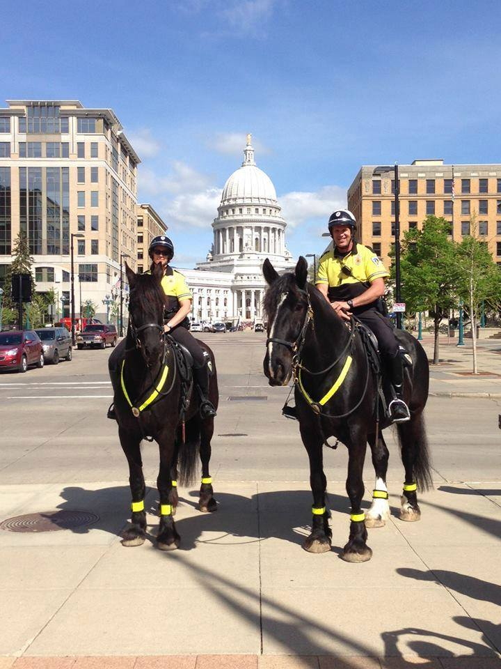 Madison Police Mounted Patrol Unit – 6th Annual Open House – Sunday, May 7th – 12 – 3 PM