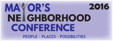 2016 Mayor's Neighborhood Conference