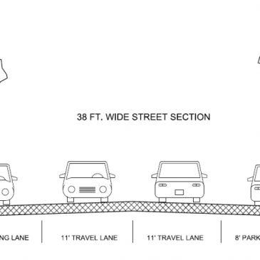 Monroe Street Reconstruction – City Cross Section Approvals