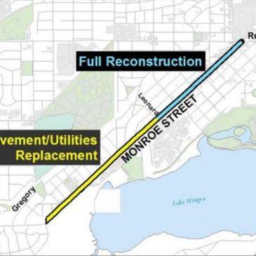 Monroe Street Construction Update