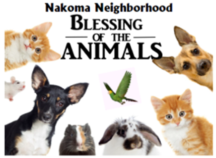 Nakoma Neighborhood Blessing of the Animals Service