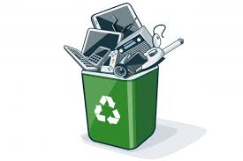 Electronic-waste recycling drive on Saturday, May 11, 2019 from 8am to 3pm