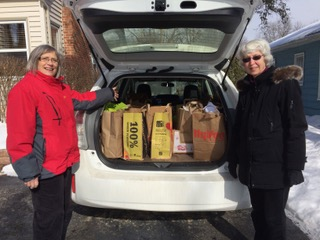 Cherokee Heights Middle School Food Pantry Pickup