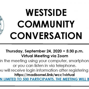 Community Conversation – Thursday, September 24 – 5:30 p.m.