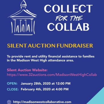 COLLECT FOR THE COLLAB! collecting auction donations until January 15th!